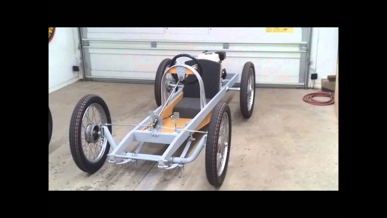 Cyclekart (Monocar) chassis complete video of details