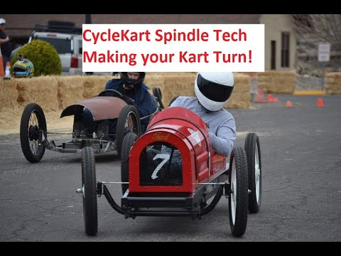 Cyclekart Spindles from Scratch