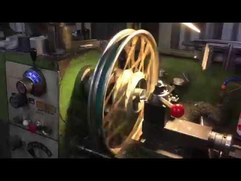 Machining my Cyclekart Wheels